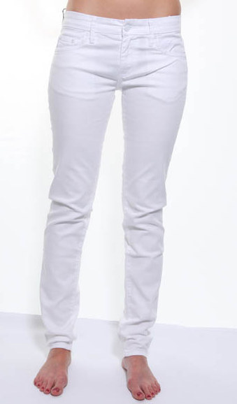 white jeans for ladies - Jean Yu Beauty