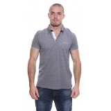 CK Stone Wash Pole Shirt