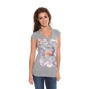 Floral Print T Shirt