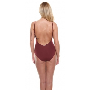 CK Maroon Swimsuit