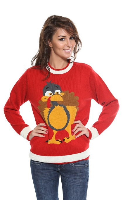 The Christmas jumper is made of % premium acrylic yarn for both comfort and durability. The Jumper can be hand washed with care. Once washed allow to and hang dry.