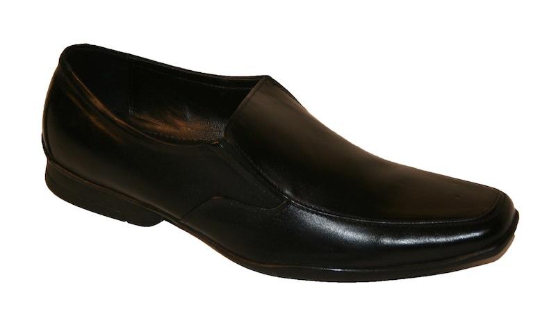 black suit black shoes - photo #36