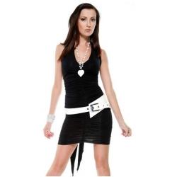 Black Four Way Dress