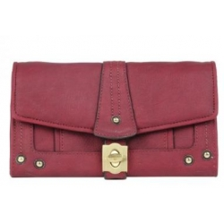 Baxter Purse - Cranberry