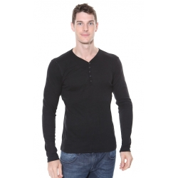 Solid Phillip L/S TShirt Black