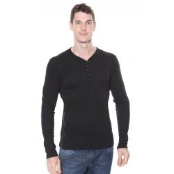 Solid Phillip L/S TShirt Black