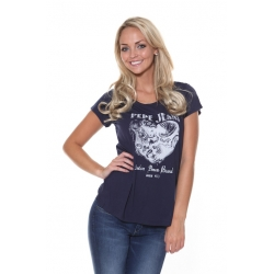 Ladies Rindra Blue Tee