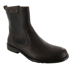 Texas Leather Ankle Boot