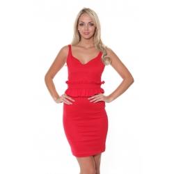 Maisy Red Dress