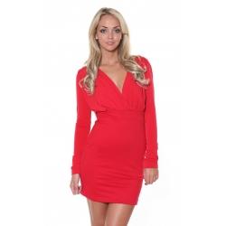 Red Gabby Dress