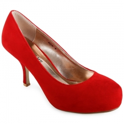 Ada Red Suede