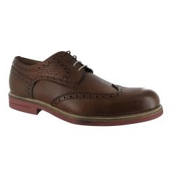 Cognac Leather Brogues