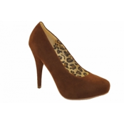 Becky Choc Brown Shoe