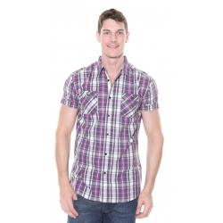 Solid Jack S/S Shirt Amaranth