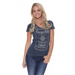 Pepe Jeans Rachel T-Shirt - Blue/Black