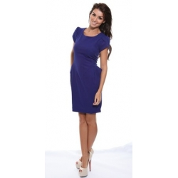 Ebony Dress - Blue
