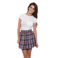 Pepe Tartan Skirt