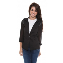 Black Fitted Jacket