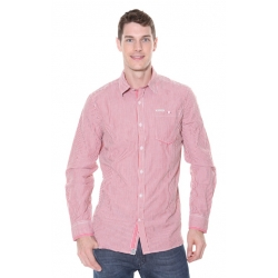 Mens Red Stripe Shirt