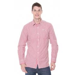 Mens Red Stripe Shirt