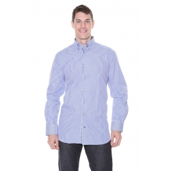 Men's Blue RB Boston Shirt