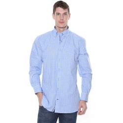 RB Boston Blue Gingham Check