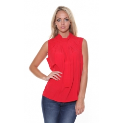 Riot Red Pepper Blouse