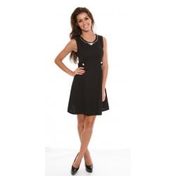 Black Woven Dress