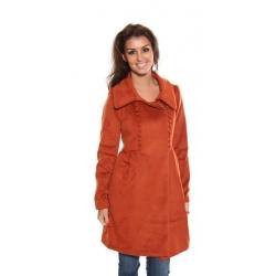 Quanna Coat - Orange