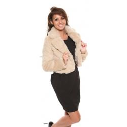 Cream Fur Jacket