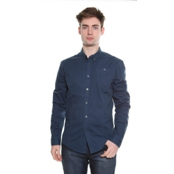 Metro Blue Stretch Shirt