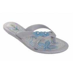 Silver Flip Flop