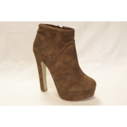 Olive Brown Ankle Boot