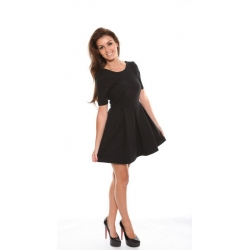Omega Dress Black