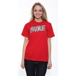 Nike Chain Link T Shirt - Red