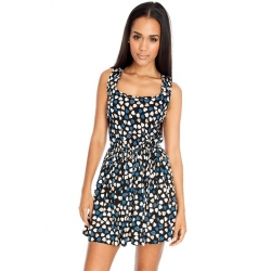 Heart Print Summer Dress