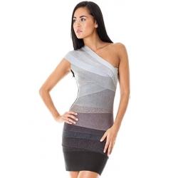 Grey Bandage Dress