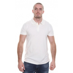 Cream Polo T-Shirt