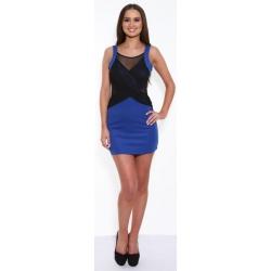 Tank Dress - Blue/Black