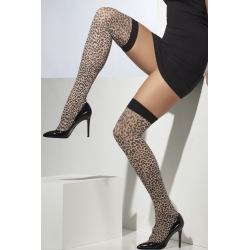 Leopard Print Stockings Tights