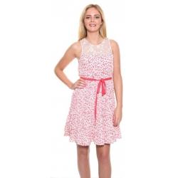 Charming Floral Print Dress