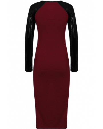 Long Sleeved Midi Dress