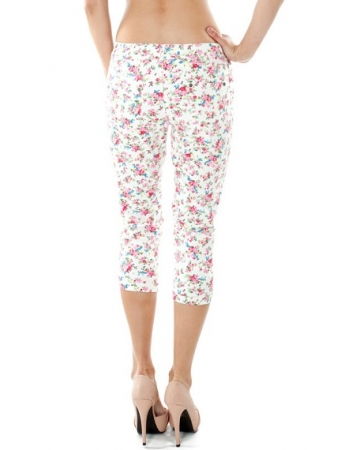 Floral Print Trousers
