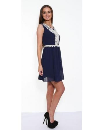 Navy Angeleye Dress